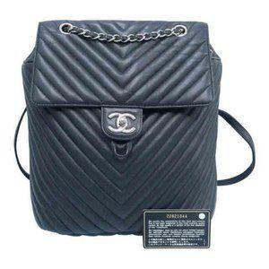 Chanel Black Urban Spirit Backpack